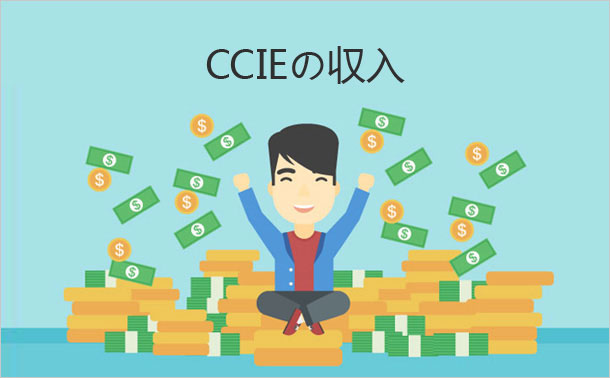 CCIEの収入