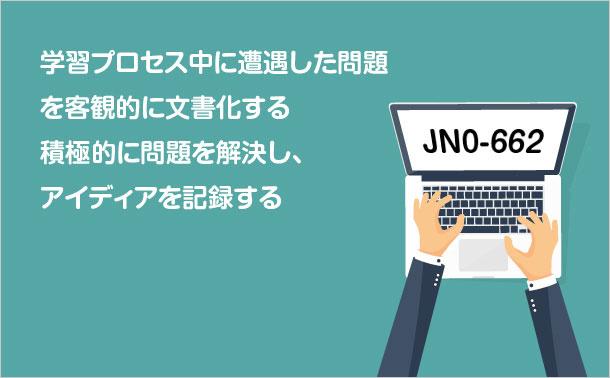 JN0-662ポイントを記録します