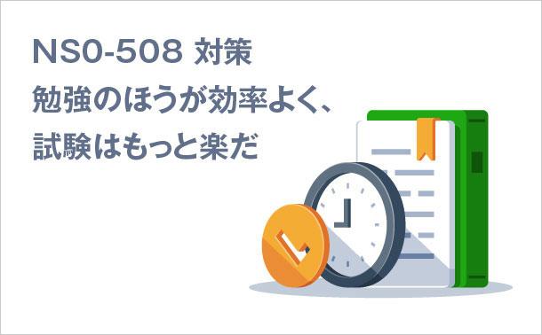 NS0-508-対策