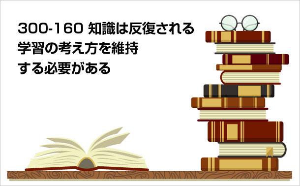 300-160 知識の更新