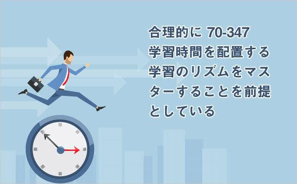 70-347 学習時間