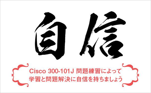 Cisco 300-101J 学習