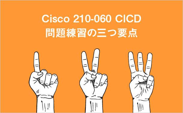 Cisco 210-060 CICD 問題練習