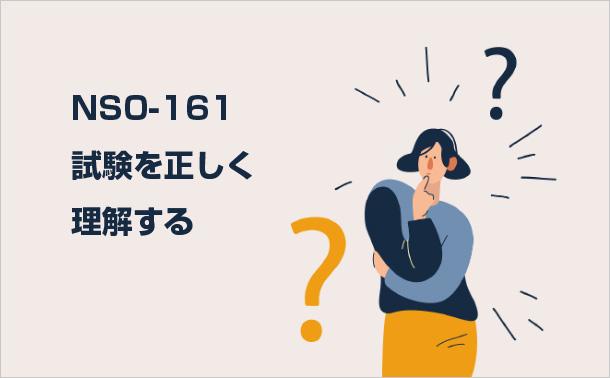 NS0-161試験を正しく理解する